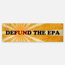Defund The EPA Sticker (Bumper)