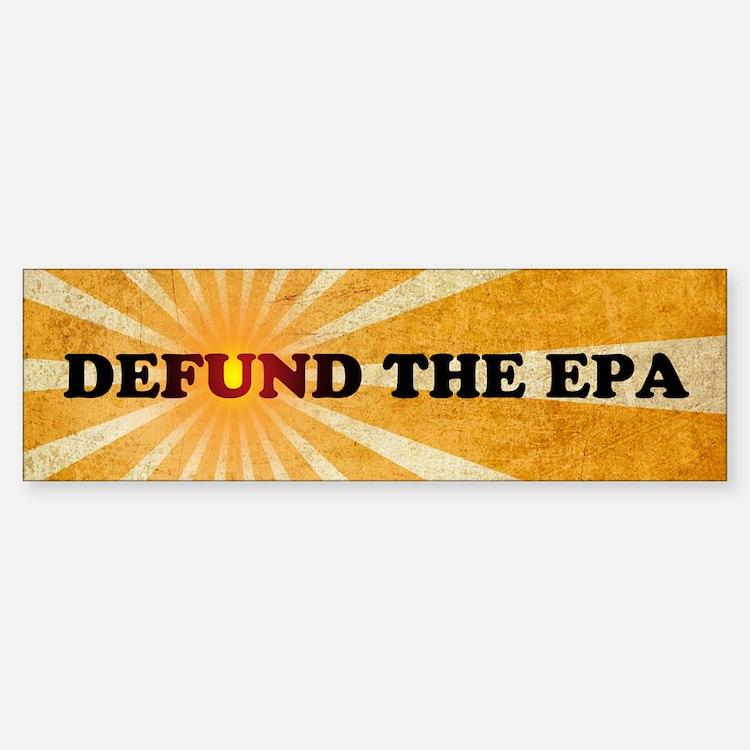 Defund The EPA Sticker (Bumper)