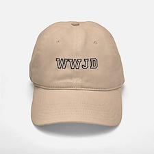 WWJD Baseball Baseball Cap
