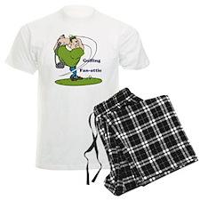 Golfing Fan-attic Pajamas