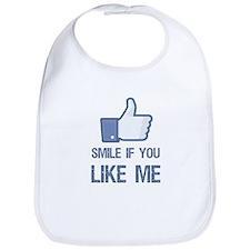 Smile If You Like Me Bib