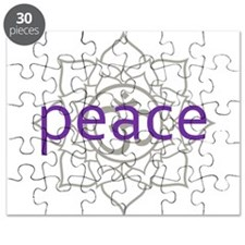 peace Om Lotus Blossom Puzzle