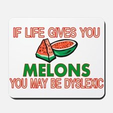 Dyslexic Melons Mousepad
