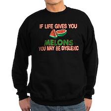 Dyslexic Melons Sweatshirt