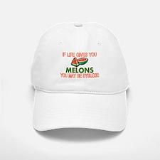 Dyslexic Melons Baseball Baseball Cap