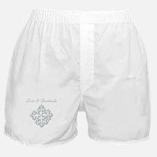 LOVE & GRATITUDE Boxer Shorts