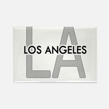 Unique L.a. Rectangle Magnet (10 pack)