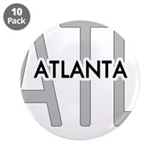 "Funny Atlanta 3.5"" Button (10 pack)"