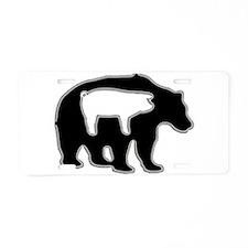 My Inner Piggy Aluminum License Plate