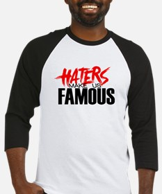Haters make me Famous Baseball Jersey