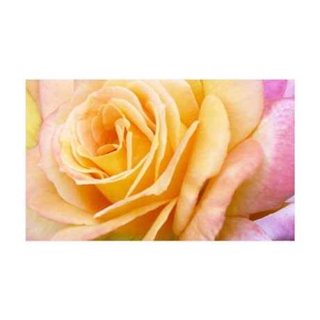 Yellow Rose Wall Peel
