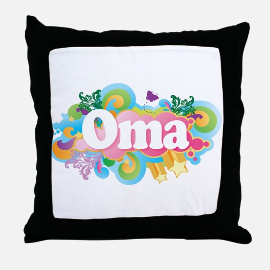 Oma Gift Throw Pillow