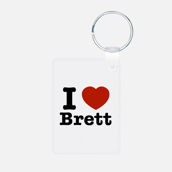 I love Brett Keychains