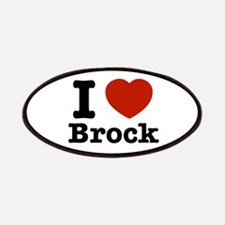 I love Brock Patches