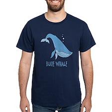 Blue Whale T-Shirt - Dark Colors