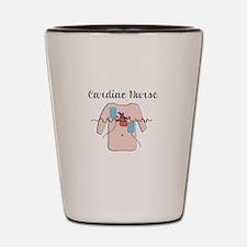 Cardiac Nurse Shot Glass