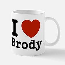 I love Brody Small Small Mug
