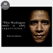 Obama, Adult Supervision, Quote Puzzle
