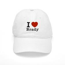 I love Brady Baseball Cap