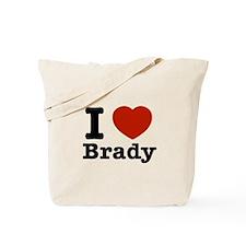 I love Brady Tote Bag