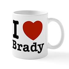 I love Brady Small Small Mug
