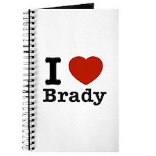 I love Brady Journal
