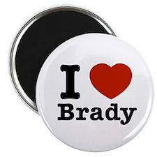 I love Brady Magnet
