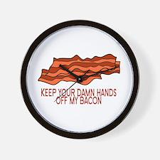 My Bacon Wall Clock