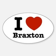 I love Braxton Decal
