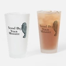 Stand By Your Manatee Drinking Glass