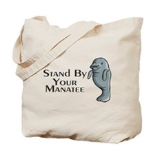 Stand By Your Manatee Tote Bag