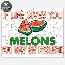 Dyslexic Melons Puzzle