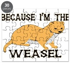 Because I'm The Weasel Puzzle