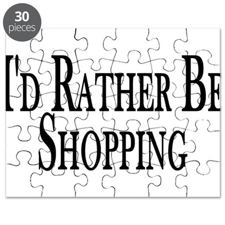 Rather Be Shopping Puzzle