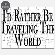Rather Travel The World Puzzle