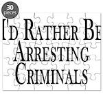 Rather Arrest Criminals Puzzle