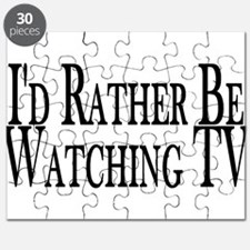 Rather Watch TV Puzzle