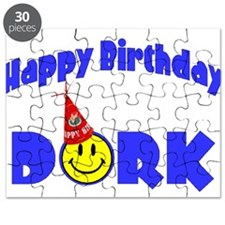Happy Birthday Dork Puzzle