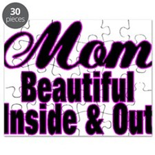 Mom Is Beautiful Puzzle
