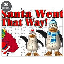 Santa Went Puzzle