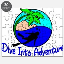 Dive Into Adventure Puzzle