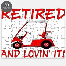 Retired And Lovin' It Puzzle