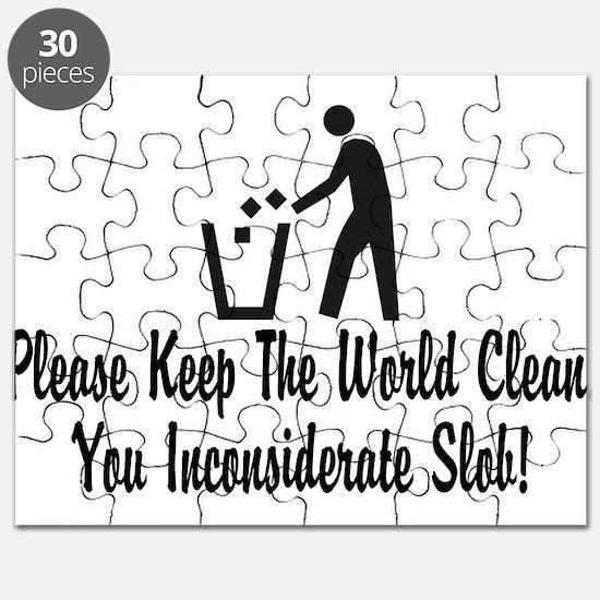 You Inconsiderate Slob Puzzle
