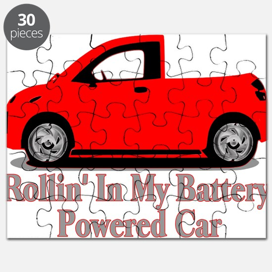 Battery Powered Car Puzzle