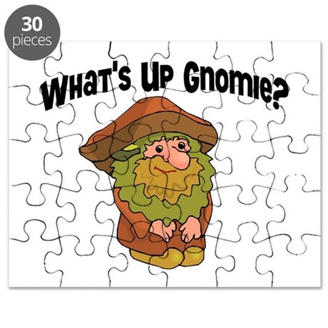 Whats Up Gnomie Puzzle