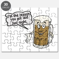 Beer Is The Reason Puzzle