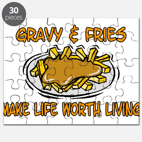 Gravy And Fries Puzzle