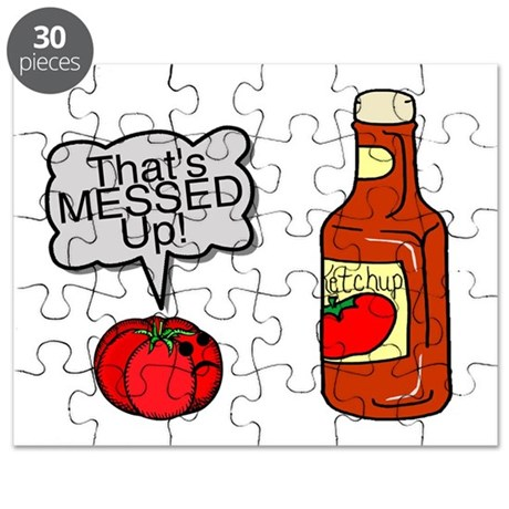 Messed Up Ketchup Puzzle