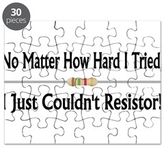 Just Couldn't Resistor Puzzle