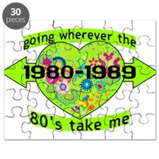 Going With The 80's Puzzle